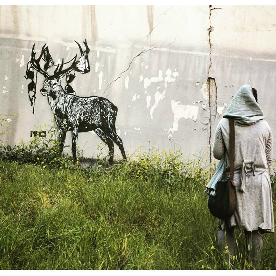 Runaway Stag by mmad