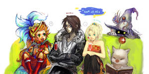 Final fantasy collaboration by shinkirow