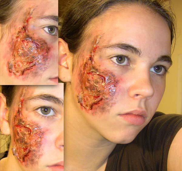 use gelatin halloween makeup