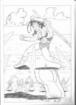 DC comics sample page1