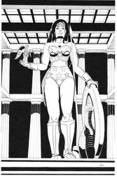 Wonder Woman by elBad