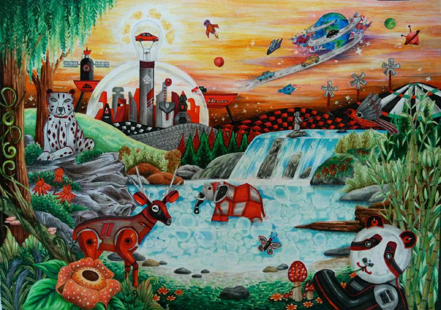 Dart Planet-traditional by paulinatj
