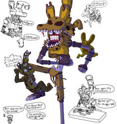 Nightmare Springtrap 3: Return Of The Dad by VonderDevil