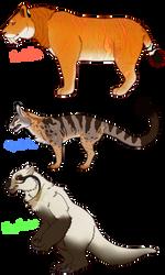 Mammals of Sauridae 1