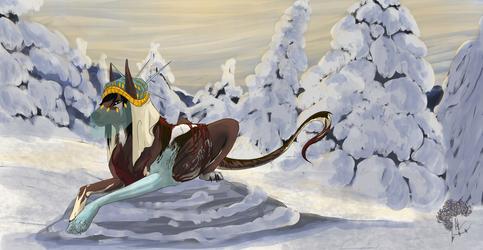 Shadja | Warmongering princess by A-Lucian