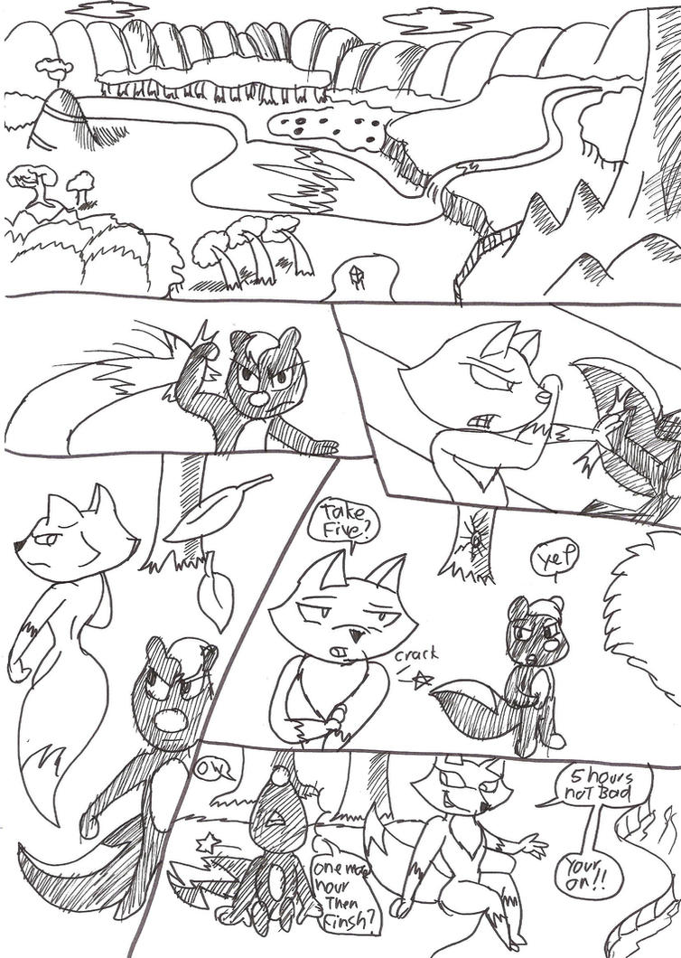 skunk fu comic p1 by large-rarge