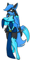 Aqura The Water Fighter by large-rarge