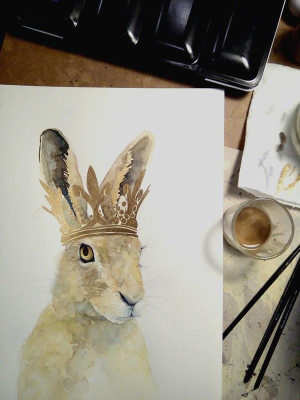 Sir Rabbit by Versya