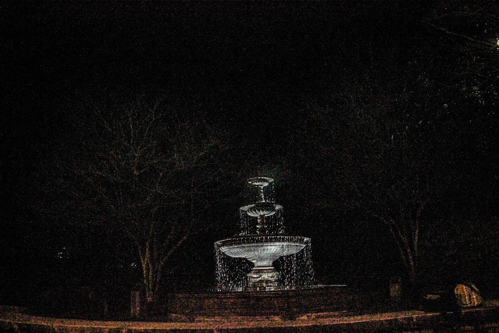Spooky Fountain  by NovaStarAsh