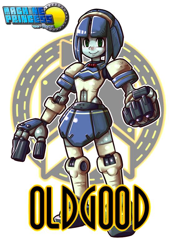 MachinePrincess:OLDGOOD by sarikyou