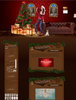 Victoria Justice Christmas Design by bernadett98