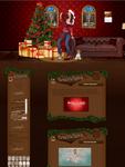 Victoria Justice Christmas Design