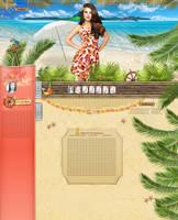 Selena Gomez summer design