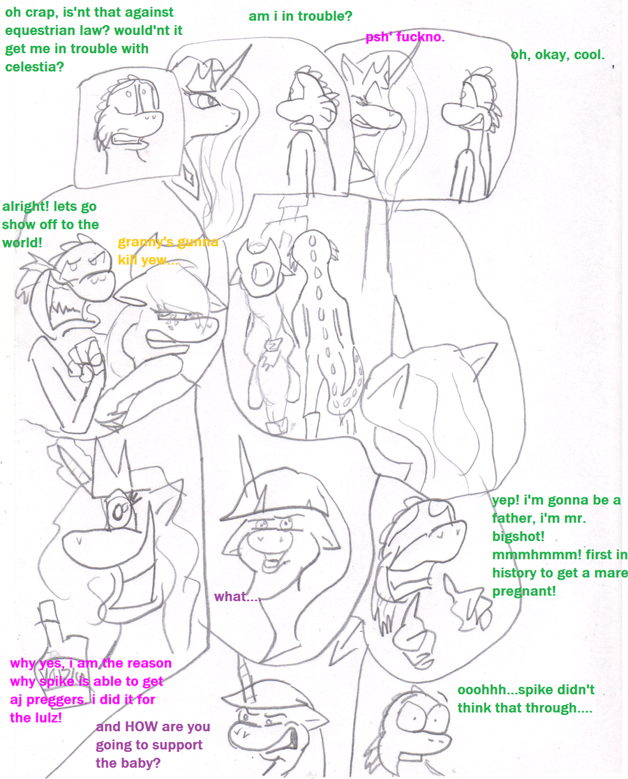 MLP: welcome to the family 8 by TMNTFAN85