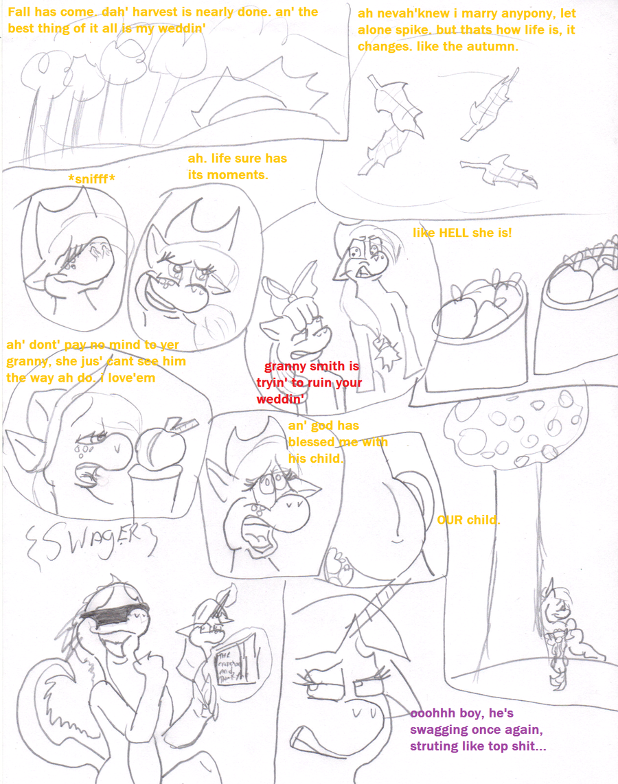 MLP: The Wedding page 1 by TMNTFAN85