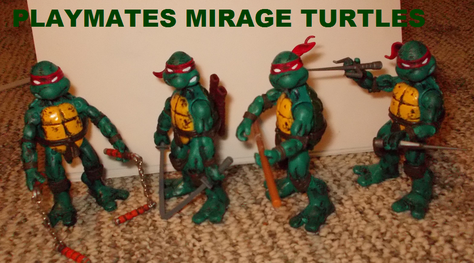 PLAYMATES MIRAGE TURTLES by TMNTFAN85