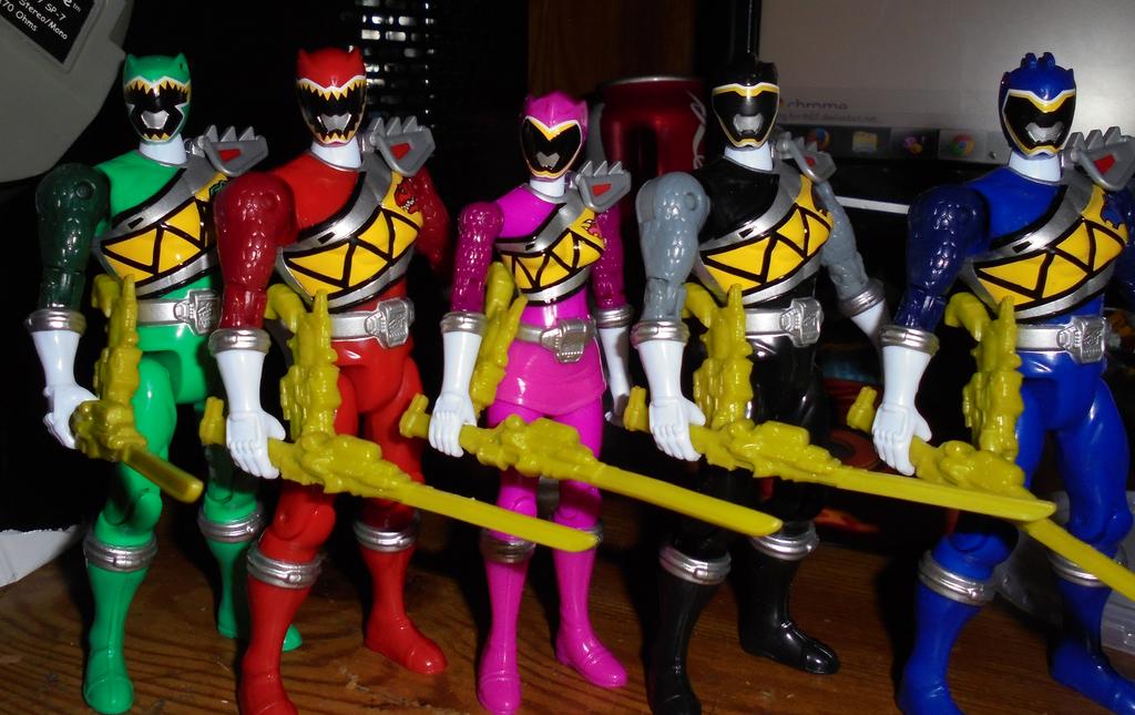 Power Rangers Dino Charge by TMNTFAN85