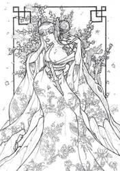 Cherry Blossom by DeeviousGenius