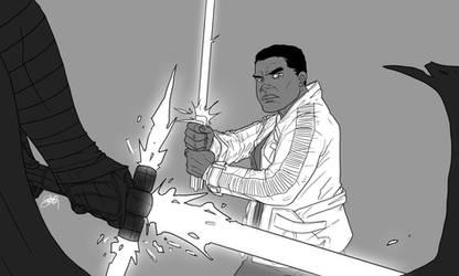 Star Wars The Force Awakens Fanart by DeeviousGenius