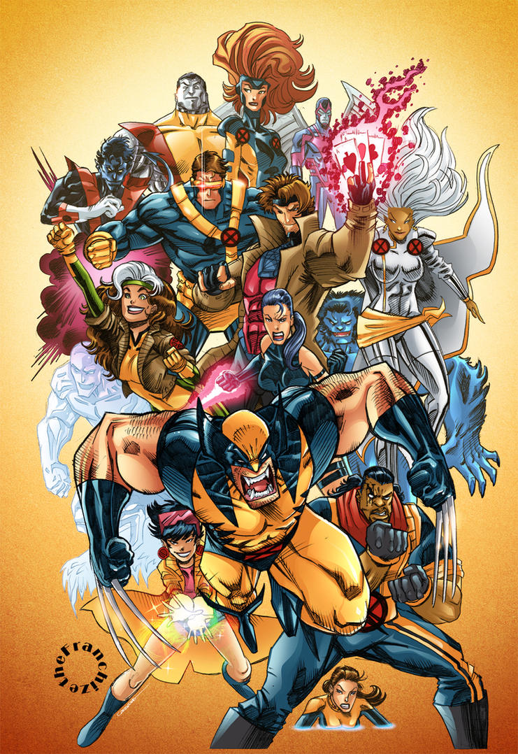 X-Men by theFranchize