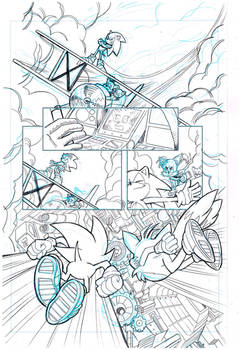 Sonic the Hedgehog #255 page 1