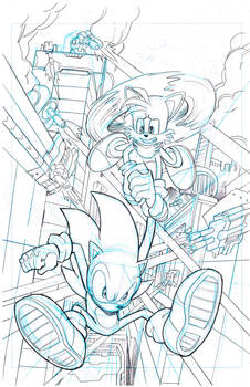 Sonic the Hedgehog #255 page 2