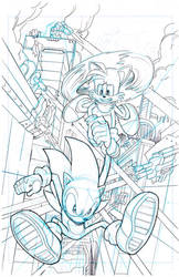 Sonic the Hedgehog #255 page 2 by theFranchize