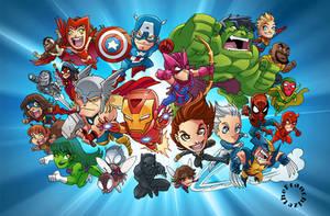Chibi Avengers