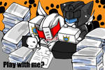 Prowl Jazz Kitty:Play with me?