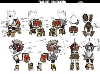 AoE: Raider Gladiator Armor (Male) by TheOvermareStudios