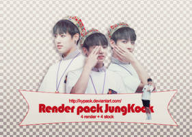 RENDER PACK: JungKook (BTS) by kypaok