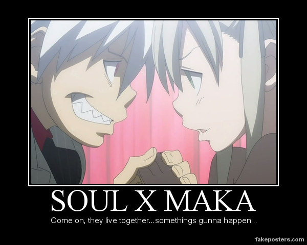 The gallery for --> Soul Eater Maka X Soul Fanfiction