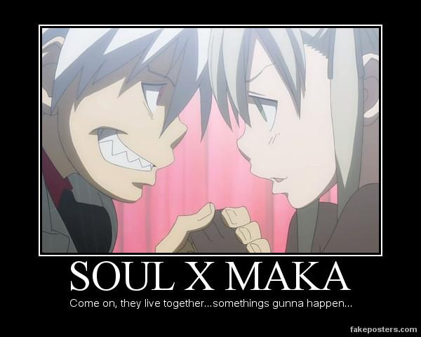 Soul X Maka by IloveDTK