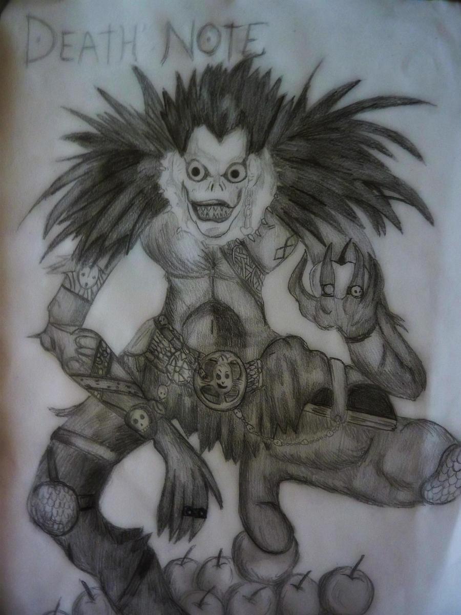 Ryuk's Draw. Death Note by ZayraMaria on DeviantArt