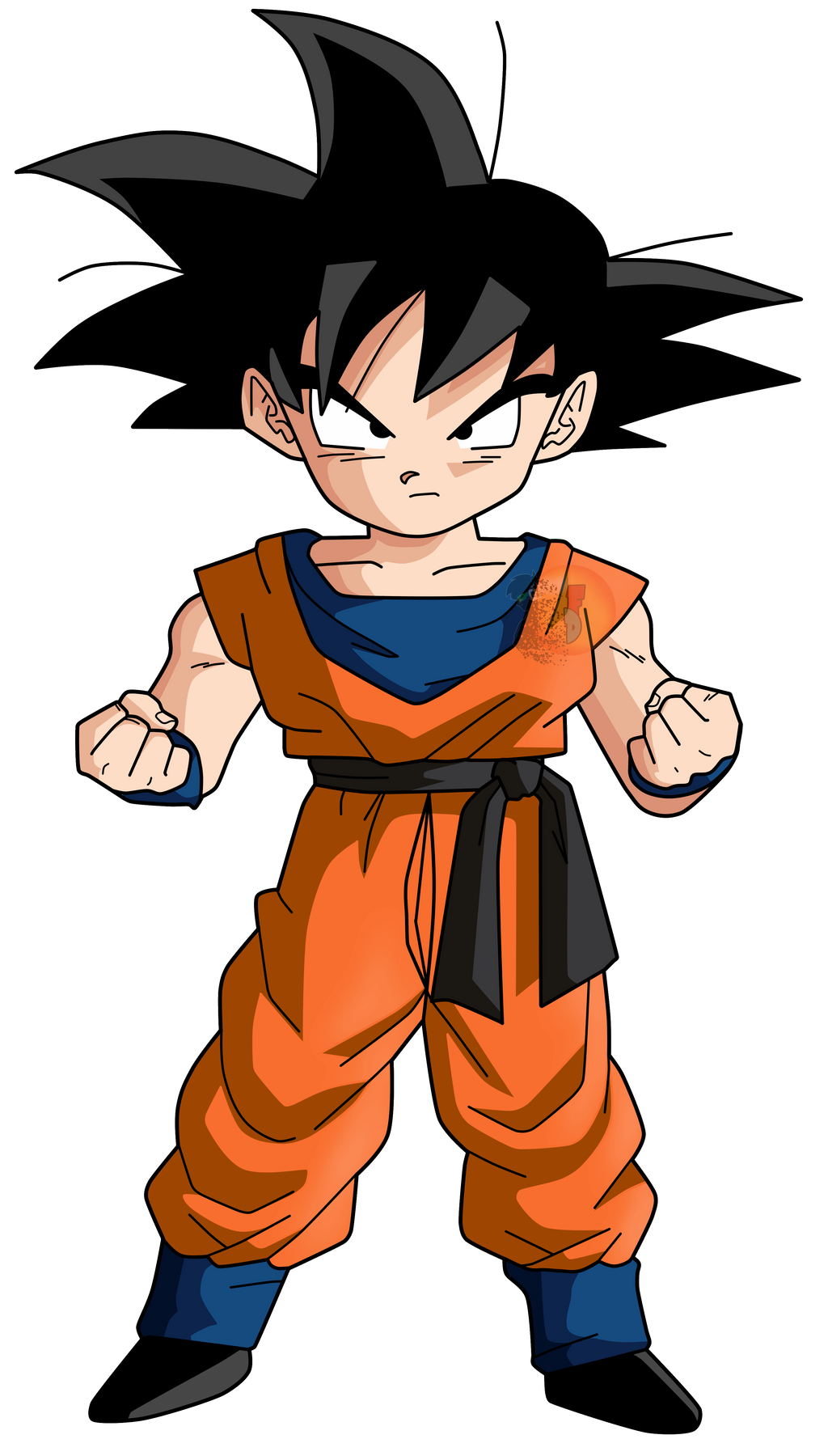 Goten #2 |FacuDibuja by FacuDibuja on DeviantArt