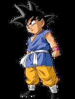 Goku Gt Kid #2|FacuDibuja by FacuDibuja