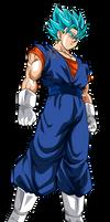 Vegetto Super Saiyan Blue |FacuDibuja by FacuDibuja