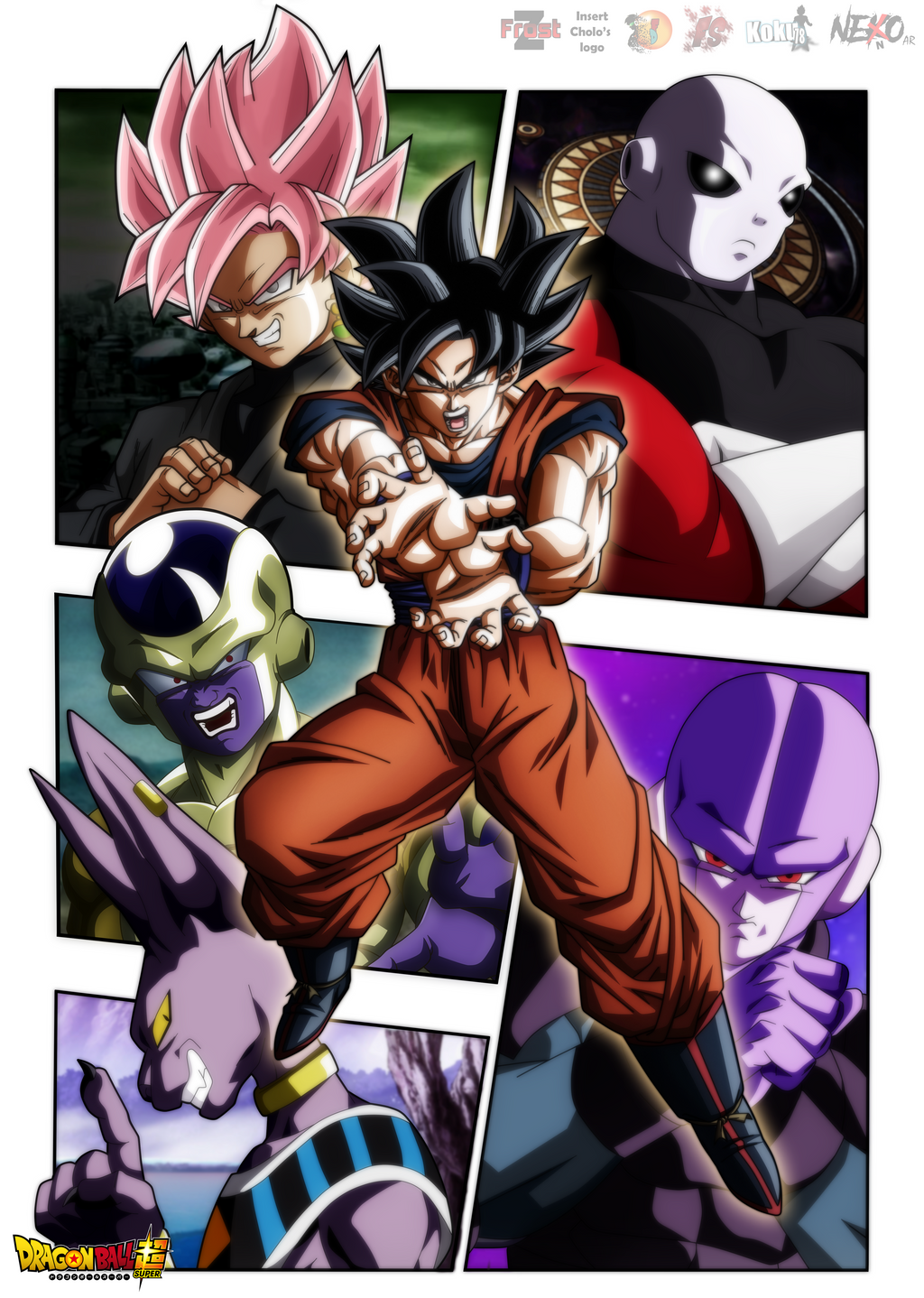 Wallpaper Dragon Ball Super Colab|FacuDibuja