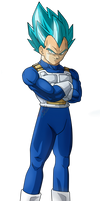 Vegeta Blue|FacuDibuja