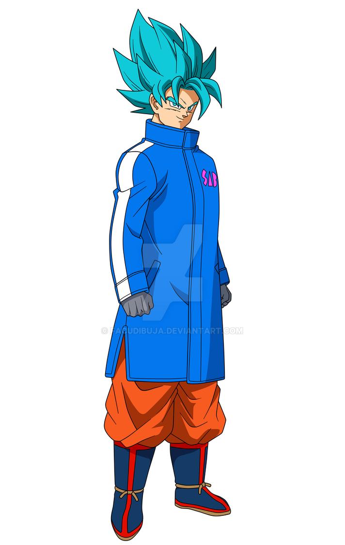 Goku SSJBlue 2018 FacuDibuja by FacuDibuja
