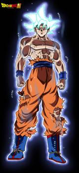 Goku Ultra Instinct FacuDibuja