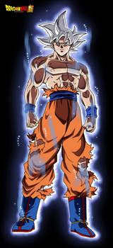 Goku Ultra Instinct #2 FacuDibuja