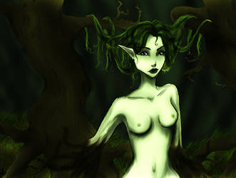 Lady of the forest by Foelina