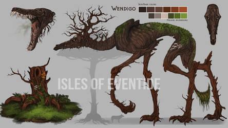 The Wendigo by Chickenbusiness