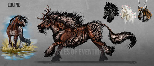 Equine concept by Chickenbusiness