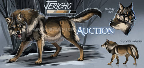 Hunky wolf auction: CLOSED