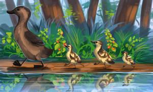 stupid ducks