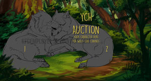 Canine couple YCH auction CLOSED by Chickenbusiness