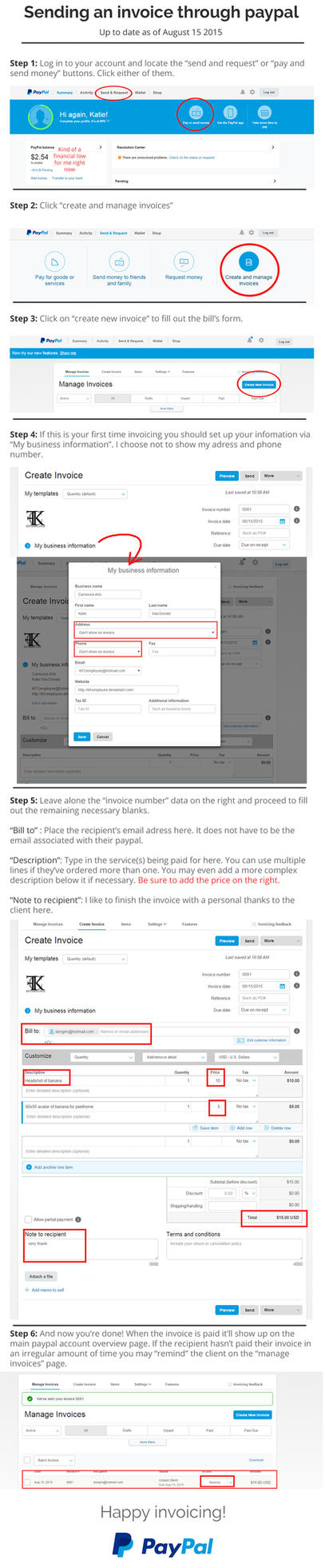 how to send payment using paypal