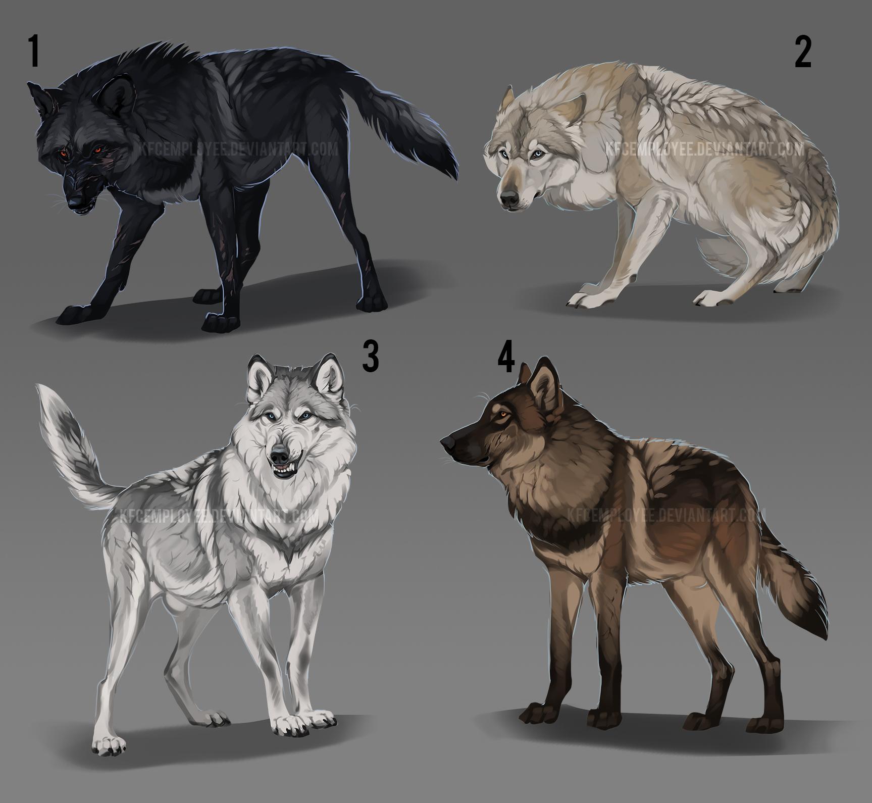 Wolf adopt batch auction: OPEN by KFCemployee